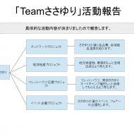 「Teamささゆり」 活動報告